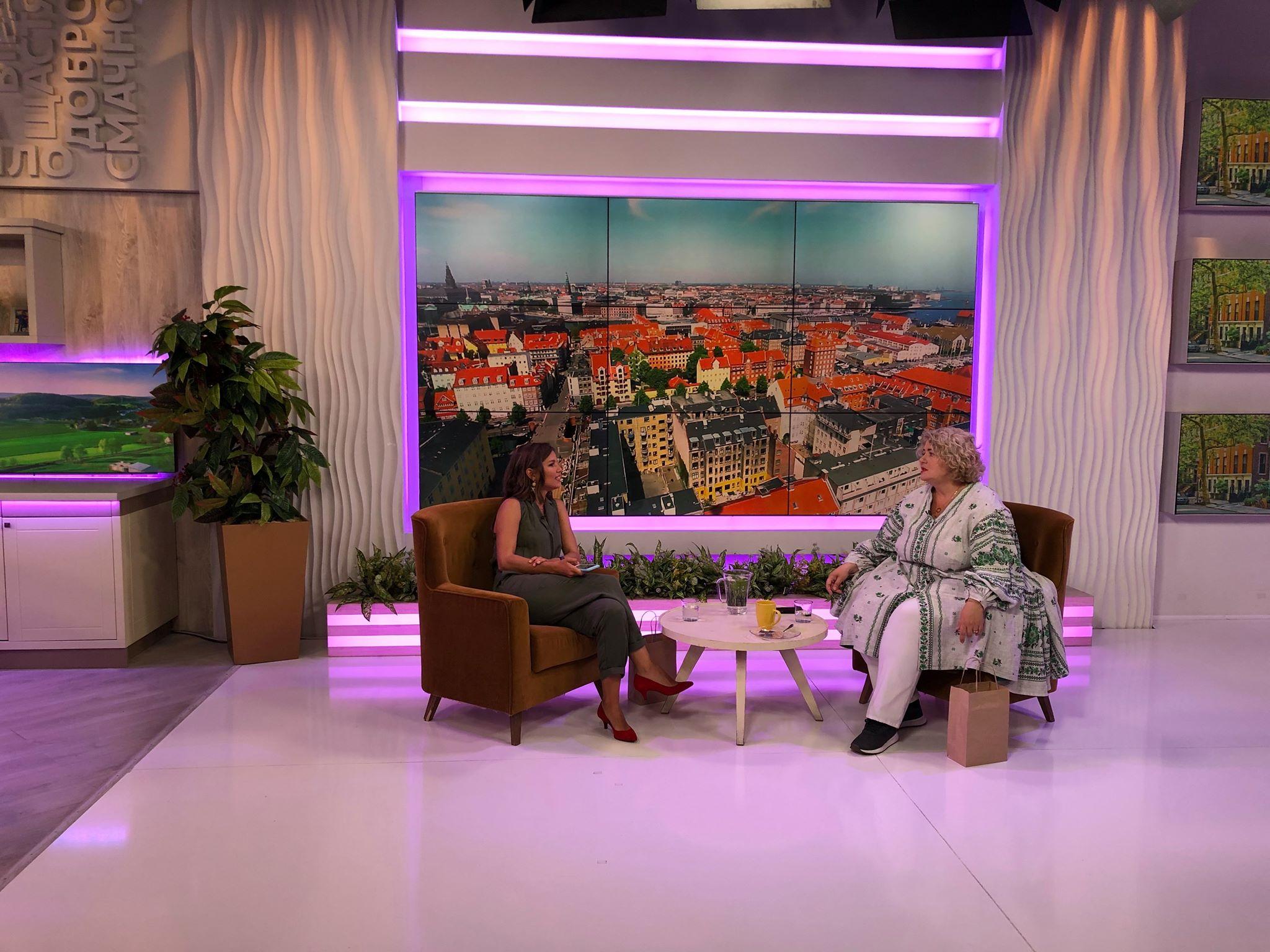Наталя Підлісна в «Сніданку після Сніданку»: про сексуальну освіту, закомплексованих людей та ставлення до віку