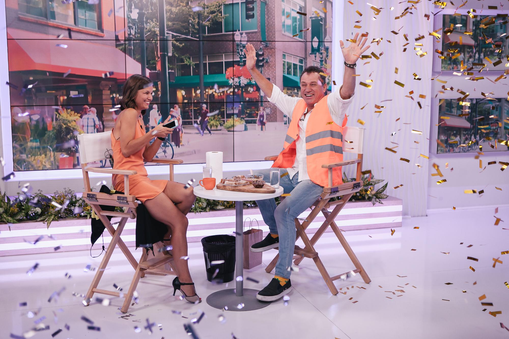 Анатолій Гнатюк у студії «Сніданку після Сніданку»: про знайомих мільйонерів, виграшний квиток та чотири одруження поспіль