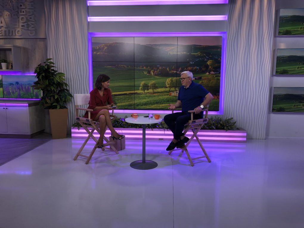 Володимир Горянський: про зйомки серіалу «Великі вуйки» та роботу з Наомі Кемпбел