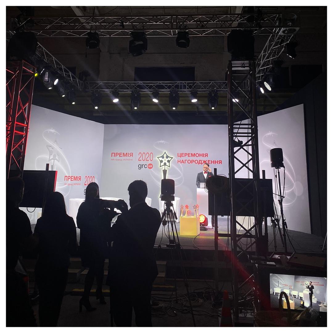 1+1 media отримала дві нагороди Премії HR-бренд Україна 2020